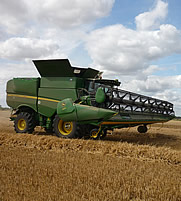 690i STS Combine at work